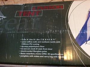 6 person Tera Gear c&ing tent - used 3 times - excellent & Tera gear tent 639 x 539 | Posot Class