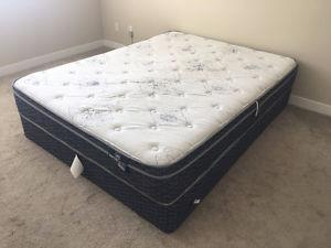 Almost brand new mattress set from TheBRICK(price is