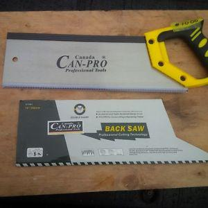 BRAND NEW CAN PRO BACK SAW-STILL IN SHEATHE