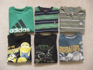 Boys Long Sleeve Shirts Lot Size 5T(Toddler)