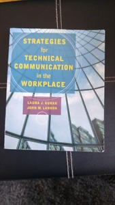 CNA Technical communications textbook for sale