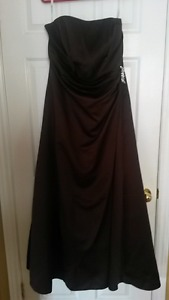 Chocolate Brown Bridesmaid Dress size 14