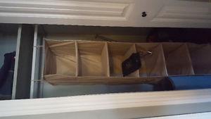 Closet organizer!