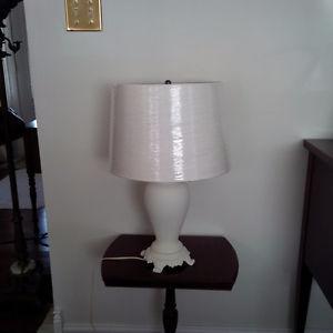 Cream lamps, Tan lamps - all new shades - individually