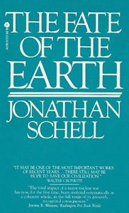 Fate of the Earth-Jonathan Schell paperback