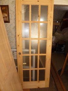 French door solid wood 30 X 80
