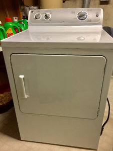 GE dryer gently used