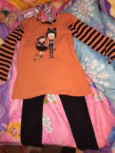 Girls Halloween Outfit Sz 4T