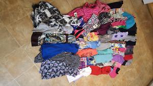 Girls clothing and shoes