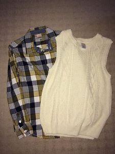 Gymboree Shirt and Vest Size 7/8
