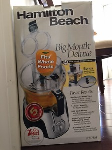 Hamilton beach food processor for sale