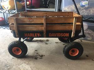 Harley Davidson toy wagon