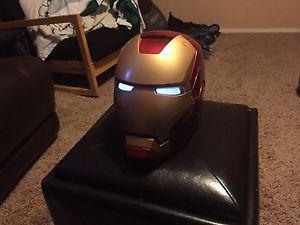 Iron Man Legends electronic helmet