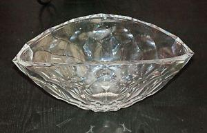 Large Italian Crystal Bowl