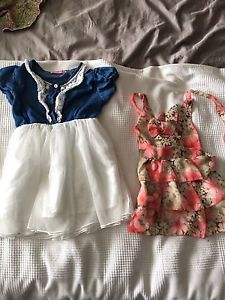 Large lot of girls size 3/4 spring summer clothes