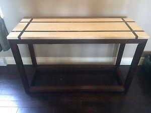 Marble top table.... perfect condition (moving)