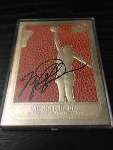 Michael Jordan gold card 23 k foil card