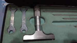 Moore & Wright Metric Depth Micrometer