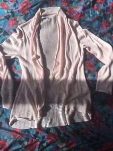 NEW. Reitmans cardigan. Size medium. Light pink