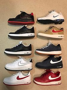 Nike Air Force Ones & Nike Shocks size10.5