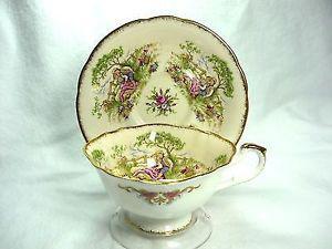 Paragon Bone China cup & saucer - Gainsborough pattern
