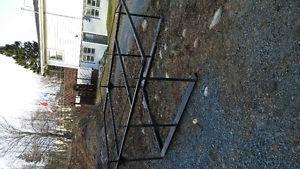 Pickup utility rack