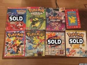 Pokemon Game Guides Nintendo Gameboy