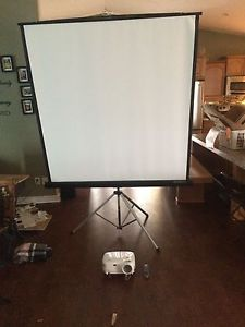 Projector and projector screen