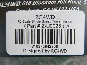 RC4WD R3 Scale Single Speed Transmission; NEW