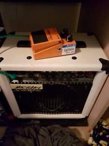 Selling used pedal and amp. $50 for both