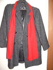 Size 9 / 10 - Wool Coat
