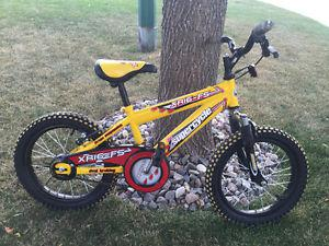 Supercycle kids bike w/ front suspension