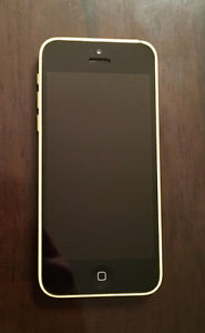 Telus iPhone 5c 8gb yellow
