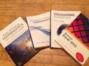 Textbooks for sale (used for NBCC Civil Technician course)