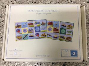 Travel Bingo Game