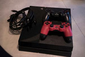 Used PlayStation GB with 2 Controllers