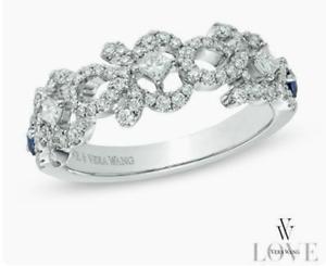Vera Wang LOVE Collection - 1/2 CT Diamond Wedding Ring