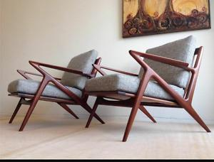 Wanted: Wanted: teak mid century lounger