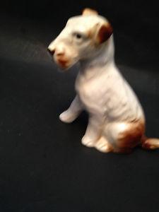 Wire Hair Fox Terrier Figurine Made in German