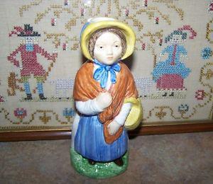 Wood & Sons England Toby Jug Little Nell Franklin Porcelain