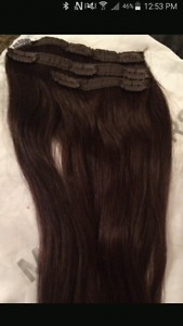 inch brown hair extensions