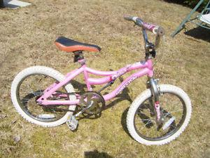 18 inch Girls Supercycle bike for sale..