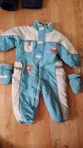 24 months one piece snow suit