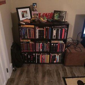 9 cube Martha Stewart bookshelf