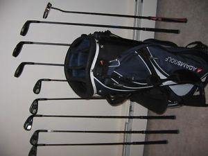 ADAMS GOLFIN SET, BRAND NEW + BAG- all set - $900