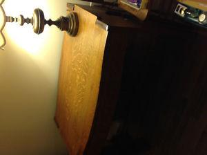 Antique desk and table