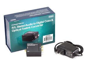 Audio to Digital Coax and Optical Toslink converter