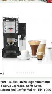 Brand new CUISINART for Illy