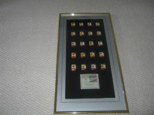 Coca-Cola  Calgary Winter Olympic Framed Collector 20