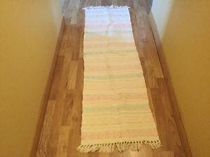 Cotton rug runner